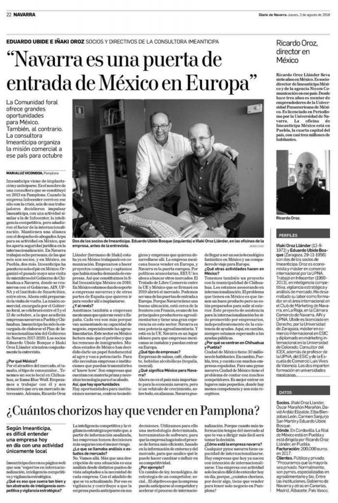 Mexico en la UE Diario de Navarra