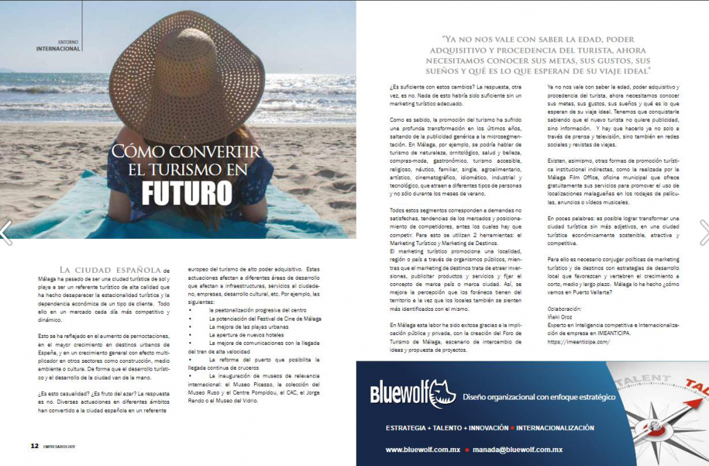 Coparmex turismo inteligencia